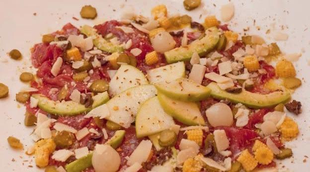 recepta-gourmet-carpaccio-vedella-verduretes-vinagre