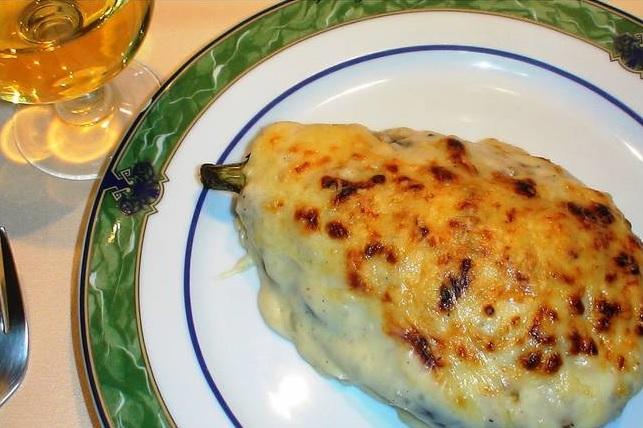 recepta d'alberginies farcides de carn i verdures amb beixamel