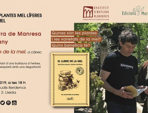 Taller El llibre de la mel, a Lleida