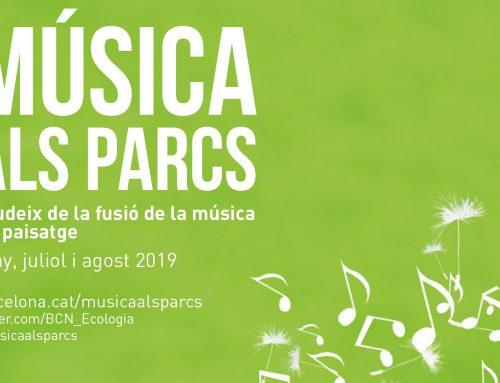Música als parcs 2019. Sons de la Mediterrània