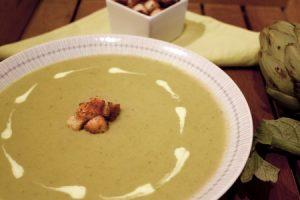 Sopa de carxofes
