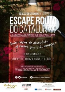 La DO Catalunya, Escape room