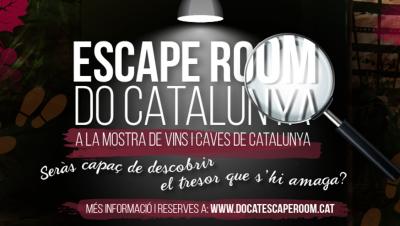 La DO Catalunya, Escape room