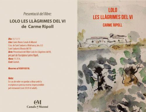 """Presentació del llibre """"Lolo les llàgrimes del vi"""""""