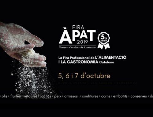 Els nostres productors gourmet a Fira ÀPAT 2019