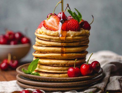Com fer pancakes saludables