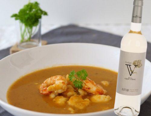 Sopa de peix i gambes