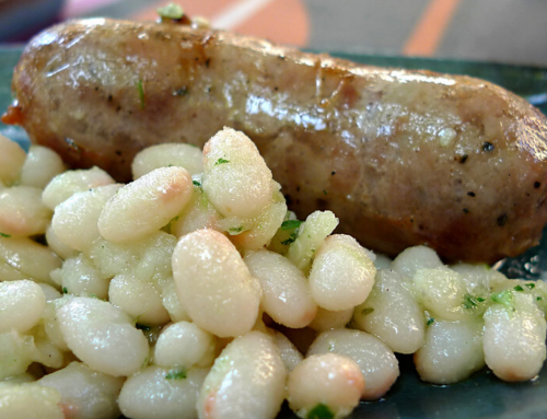 La botifarra amb seques, símbol de la cuina catalana