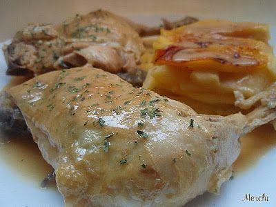 La recepta de pollastre al cava que t'encantarà