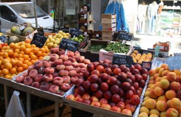 Mercat de fruites i verdures